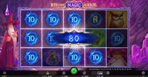 Merlin's Magic Mirror Free Play Big Win