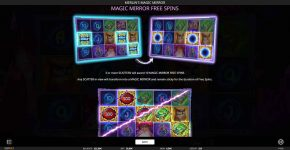 Merlin's Magic Mirror Free Play Free Spins