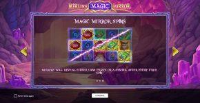 Merlin's Magic Mirror Free Play Magic Mirror Spins