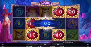 Merlin's Magic Mirror Free Play Win