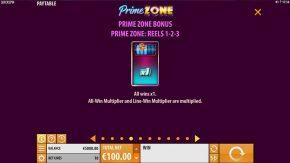 Prime Zone Slot Bonus Reels