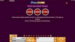 Prime Zone Slot Bonus Symbols