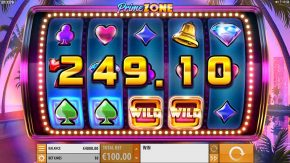 Prime Zone Slot Gameplay