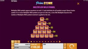 Prime Zone Slot Multipliers