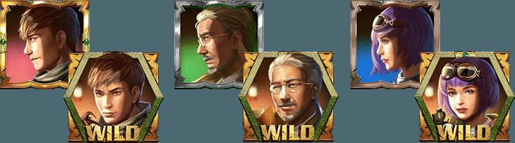 Relic Seekers Wild Symbols