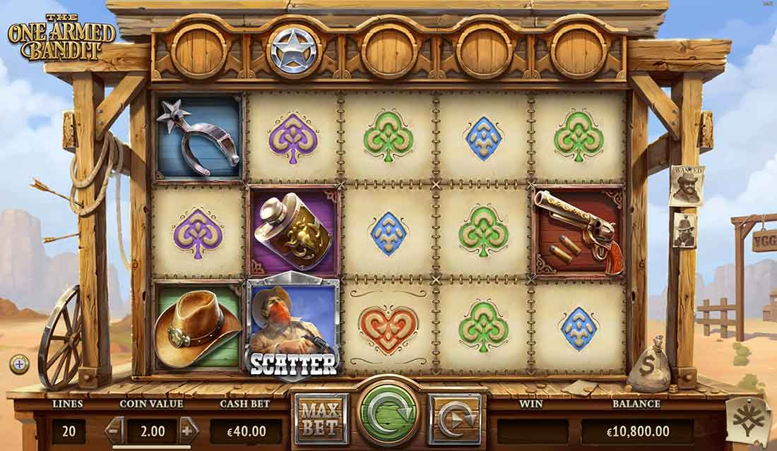 Play The New One Armed Bandit Slot From Yggdrasil