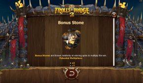 Trolls Bridge 2 Free Play Bonus Stone