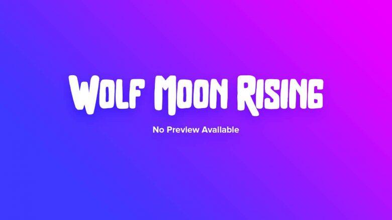 Wolf Moon Rising Slot Demo