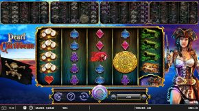 Pearl of the Caribbean free spins symbol