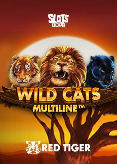 Wild Cats Multiline Slot Free Play