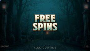 A Dark Matter Free Spin Click