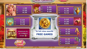 Almighty Jackpots Garden of Persephone Rules Scatter