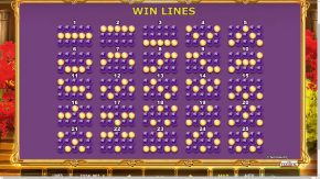 Almighty Jackpots Garden of Persephone Rules Win Lines