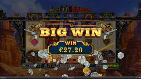 Bonus Train Bandits big win