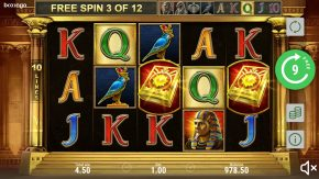 Book of Sun Multichance free spins gameplay