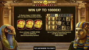 Book of Sun Multichance game rules