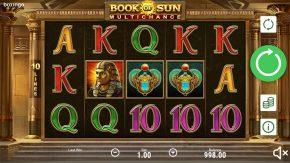 Book of Sun Multichance gameplay