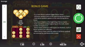 Dragon Pearls Hold and Win game rules bonus game