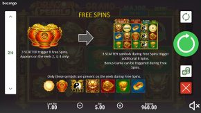 Dragon Pearls Hold and Win game rules free spins