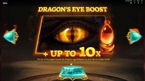 Dragons Fire Megaways dragons eye boost
