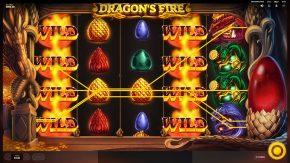 Dragons Fire Megaways wild
