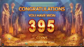 Egyptian King big win