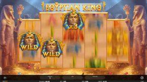 Egyptian King pharaoh wild symbol multiplier