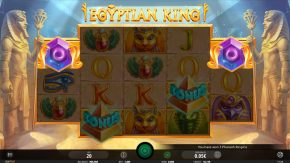 Egyptian King respin symbols