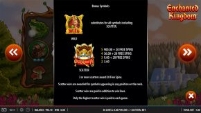 Enchanted Kingdom game bonus symbols