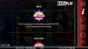 Hypernova Megaways game rules wild symbol
