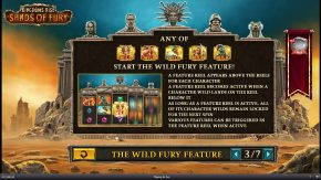 Kingdoms Rise Sands of Fury The Wild Fury Feature rules