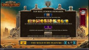 Kingdoms Rise Sands of Fury The Wild Fury Feature two rules