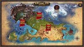 Kingdoms Rise Sands of Fury World Map