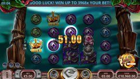 Liliths Inferno Win three