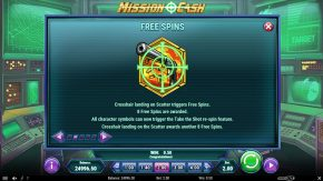 Mission Cash game rules free spins