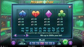 Mission Cash payouts