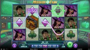 Mission Cash similar symbol