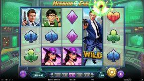 Mission Cash wild symbol