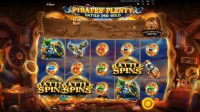 Pirates Plenty 2 Battle for Gold free spins symbols