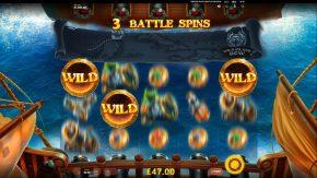 Pirates Plenty 2 Battle for Gold free spins wild symbol