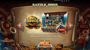 Pirates Plenty 2 Battle for Gold game rules battle spins