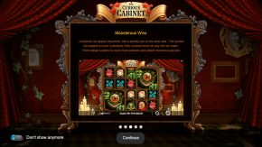 The Curious Cabinet game rules monsterous wins