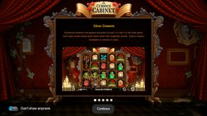 The Curious Cabinet game rules silver drawers