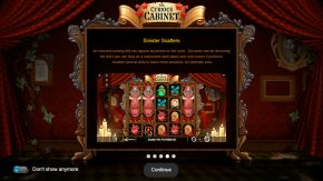 The Curious Cabinet game rules sinister scatters