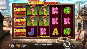 The Great Chicken Escape gameplay