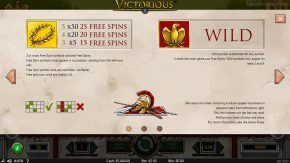 Victorious game rules one
