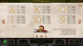 Victorious game rules three