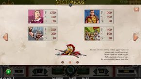 Victorious game rules two