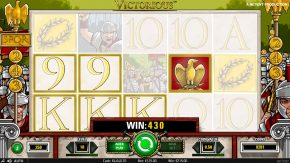 Victorious win wild