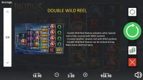 Vikings Winter game rules double wild reel